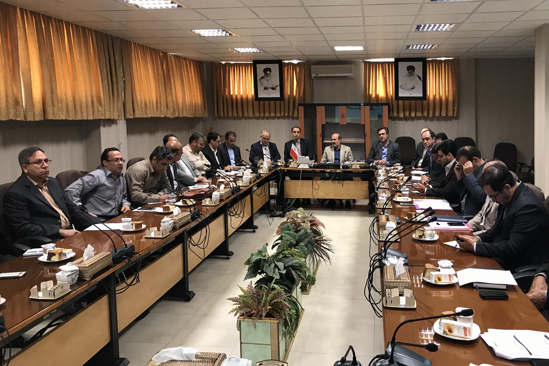 سومين جلسه كارگروه تخصصي آمايش سرزمين، آمار، محيط زيست و توسعه پايدار استان اصفهان
